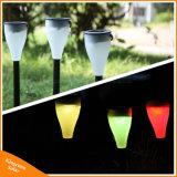 Изменение цвета солнечной висящих/лампа с остроконечными зубьями на дворе газон ландшафт