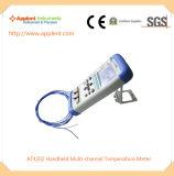 고품질 부화기 (AT4202)를 위한 다중채널 온도 온도계
