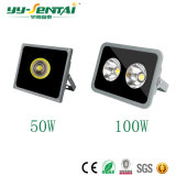 Popualr 50W-400W Projector LED de exterior para iluminação de arquitetura