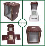 PVC Windowsが付いている卸し売り防水光沢のあるラミネーションの花ボックス