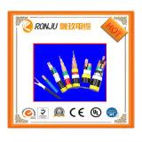 Câble isolé thermoplastique ignifuge résistant et fil de la TW 75 de câble de lumière du soleil isolé par PVC de basse température de fil