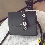 Blume der Art-2017new verzierte Fabrik Sy8601 der Frauen-Handtasche Hight Qualitäts-PU-Schulter-Beutel-Form-Dame-Bags From China