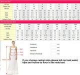 Blumenbrautballkleider, die Backless Hochzeits-Kleid 2018 Tb209 bördeln