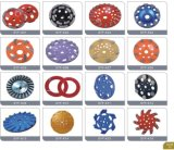 5 Wiel van de Kop van de Diamant van de duim het Malende voor Concrete Molen