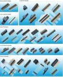 China-Fabrik pH: 2.54mm drei Reihen-Weibchen/männlicher Pin-Vorsatz-Verbindergerader Pin