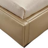 寝室の家具G7005のための現代本物牛革ベッド