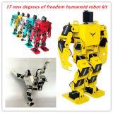17dof de tweevoetige Robot Humanoid met Vrije APP, MP3 Module, detailleerde VideoSteun Van een privé-leraar zingt de Robot van Humanoid van de Dans