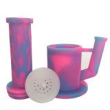 Neues Silikon-Glaswasser-Huka-Rauch-Rohr-Rohr auf Verkauf