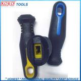 [كّ2] لون مزدوجة [بّ] مستديرة فتحة بئر [بلستك] مقبض لأنّ يد أدوات