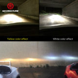 Markcars EXW 가격 이중 색깔 LED 차 헤드라이트에 의하여 숨겨지는 헤드라이트 LED 헤드라이트 H4