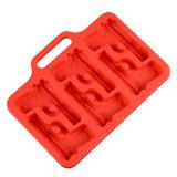 Кухонных сделать делает 6 большие кубики пистолет зоны силиконового герметика Ice Cube в лоток для бумаги