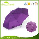 Сильное Windproof черное изготовление Китай зонтика вала металла