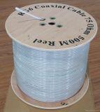 Дешевые кабели связи фабрики коаксиального кабеля цены RG6 для CCTV/CATV