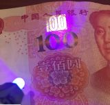 小型LEDの紫外線球根の紫色の軽いお金のレジ係のKeychainランプ