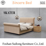 Верхней части конструкции американском стиле ткань кровать SK25