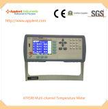 温度データ自動記録器(AT4508A)サポートPT100および熱電対