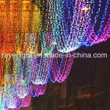 Гигантские светодиодные индикаторы строк коммерческих рождественские украшения украшения для установки вне помещений