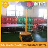 交通安全のための新製品の省エネの太陽シグナルの警報灯