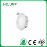 10W à intensité variable étanche IP44 Plat Die Casting Downlight Led en aluminium