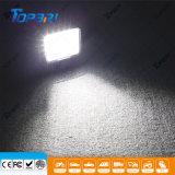 Linterna campo a través negra del carro LED del jeep 12V del precio de fábrica 100W