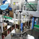 Machine à étiquettes de choc de colle de bouteille auto-adhésive humide à grande vitesse en verre ronde automatique de bâton