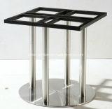 (SC-730) Moderne Gaststätte-Kaffee-Möbel-rundes Edelstahl-Tisch-Bein