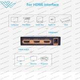 4K*2K@60Hz HDMI 2.0 Hdr HDMI Teiler 1X2 volles HD/3D