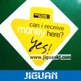 Уф защита пользовательских печатных Светоотражающие таблички автомобиля клея