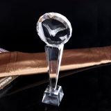Ambacht van de Trofee van het Glas van het Kristal van het golf de Optische voor Herinnering