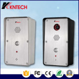Intercomunicación SIP Phone Knzd-47 con la cámara de vídeo y soporte de Poe
