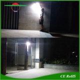 벽 램프 운동 측정기 정원 스포트라이트가 태양 강화한 안전에 의하여 점화한다