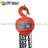 Hscシリーズ1トンの販売のための携帯用小さい手動の引きのチェーンブロック