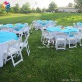 강한 Foldable 옥외 백색 수지 의자 Hly-RS041