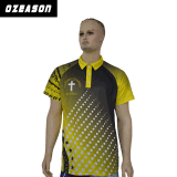 T-shirt personnalisé de polo de golf de modèle de bonne qualité de modèle de mode