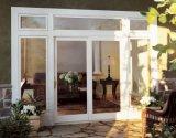 Puerta deslizante de aluminio de cristal reflexiva de Woodwin
