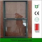 Qualidade superior em alumínio de translação vertical Single Hung Windows para venda