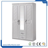 PVCメラミンMDFの削片板の寝室のワードローブの戸棚Almirah