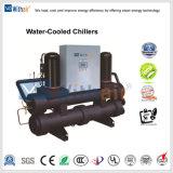 Système de refroidissement industriel refroidi par eau chiller de défilement