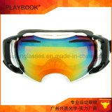Bâti d'impression de qualité avec les lunettes faites sur commande de ski de jet d'eau de courroie emballant des lunettes