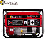 Generador eléctrico de la gasolina del comienzo de Honda Gx160 5.5HP