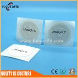 NFC 주문을 받아서 만들어진 크기 및 로고를 가진 지능적인 RFID 칩 레이블