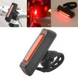 150lm 6 lumière rechargeable d'arrière d'arrière de bicyclette de vélo du mode USB