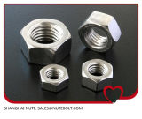 Acier inoxydable 304 316 noix Hex DIN934 M6