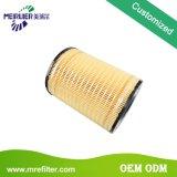 Abastece el filtro de petróleo del carro de la calidad del OEM de los excavadores del pilar 1r-0726