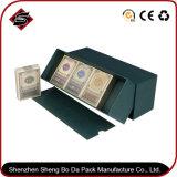Kundenspezifisches Entwurfs-Drucken, das silbernen Geschenk-Kasten stempelt