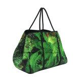 De nieuwe Handtassen van de Schouder van het Neopreen van de Manier van de Stijl Sublimatie Afgedrukte Dame Tote Bags voor Vrouwen