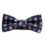 安い価格のクリスマス様式のちょうネクタイ