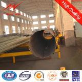 Elektrische Übertragung und Verteilung Stahlpole mit Zubehör