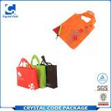 様式のナイロンFoldable再使用可能なショッピング・バッグをカスタマイズした
