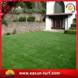 El jardín al aire libre utilizó césped artificial de la hierba de la forma de V de la altura de 35m m